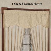 Sonoma Shaped Valance Light Cream 52 x 17