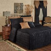 Camden Grande Fitted Bedspread Onyx