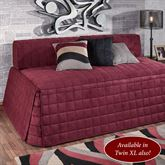 Camden Hollywood Daybed Cover Claret