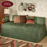 Camden Hollywood Daybed Cover Deep Sage