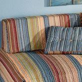 Katelin Bolster Pillow with Sham Blue
