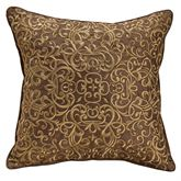 Bradney Embroidered Pillow Multi Warm 16 Square