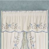 Antique Charm Tailored Valance Dusty Blue 60 x 18