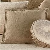 Everafter Tailored Pillow Almond 18 Square