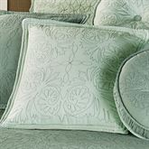 Everafter Tailored Pillow Celadon 18 Square