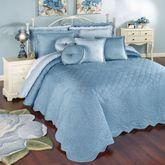 Everafter Grande Bedspread Dusty Blue