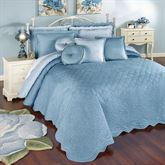 Everafter Grande Bedspread Dusty Blue
