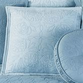 Everafter Tailored Pillow Dusty Blue 18 Square