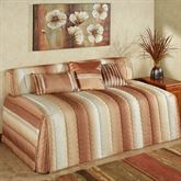Mirage Hollywood Daybed Cover Sienna Brown Twin Daybed