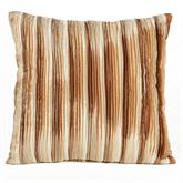 Mirage Mini Pleat Tailored Pillow Sienna Brown 18 Square
