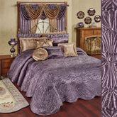 Portia Grande Bedspread Amethyst