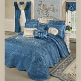 Portia Grande Bedspread Sapphire