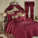 Portia II Grande Bedspread Ruby