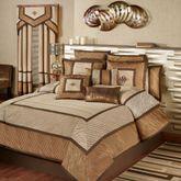 Delta Comforter Set Bronze