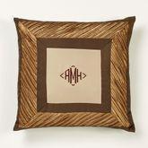 Delta Tailored Pillow Bronze 20 Square