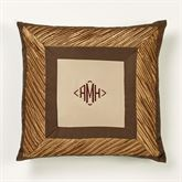 Delta Tailored Pillow Bronze 20 Square