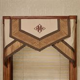 Delta Cornice Valance Bronze Three Piece Set
