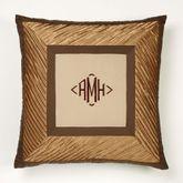 Delta European Pillow with Sham Bronze