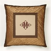 Delta European Pillow with Sham Bronze