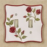 Vining Rose Double Switch Red