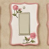 Bridal Rose Single Dimmer Rocker Blush