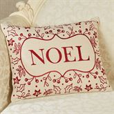 Noel Decorative Pillow Light Cream Rectangle