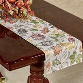 Natural Foliage Table Runner 14 x 70