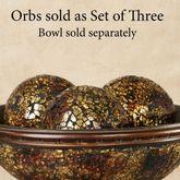 Kyara Mosaic Orbs Bronze Set of Three