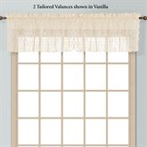 Windsor Lace Tailored Valance 56 x 16