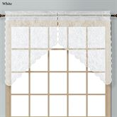 Windsor Lace Swag Valance Pair 56 x 38