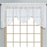 Windsor Lace Swagger Valance 72 x 36