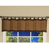 Bamboo Ring Top Valance48 x 12