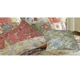 Blooming Prairie Square Pillow Set Multi Cool 16 Square