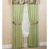 Blooming Prairie Tailored Curtain Pair Multi Cool 84 x 84