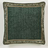 Marietta European Pillow with Sham Green