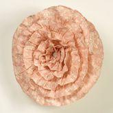 Daydream Ruffled Pillow Rose 15 Round