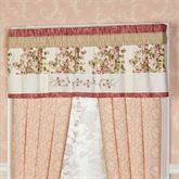 Daydream Tailored Valance Rose 60 x 16