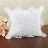 Crochet Flanged Rectangle Pillow  Rectangle