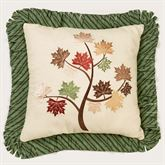 Riverpark Embroidered Pillow Multi Warm 16 Square
