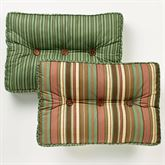 Riverpark Piped Tufted Pillow Multi Warm Rectangle