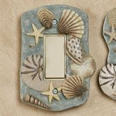 At the Beach Single Rocker Dimmer Switch Blue