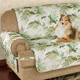 Paradise Leaf Furniture Protector Parchment Extra Long Sofa