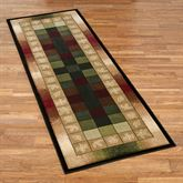 Autumn Crest Rug Runner Multi Earth 27 x 74