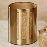 Enlighten Wastebasket Gold