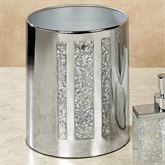 Enlighten Wastebasket Silver