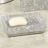 Enlighten Soap Dish Silver