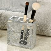 Enlighten Brush Holder Silver