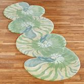 Clearwater Nautilus Shell Rug Runner Multi Cool 28 x 8