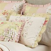Prairie Bloom Quilted Sham Light Cream Standard
