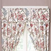 Izabelle Tailored Valance Claret 80 x 17